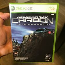 Need for Speed: Carbon -- Collector's Edition (Microsoft Xbox 360, 2006) NTSC-J