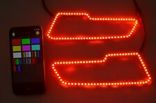 Multiple Color RGB LED Headlight Halo Ring Polaris Sportsman 850/1000 Blue-tooth