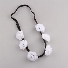 1pc Boho White Beach Flower Summer Wedding Hair Garland Headband Women Hair Band