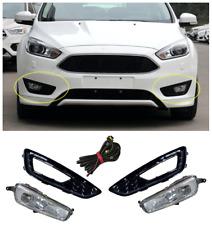 For 2015 2016 2017 2018 Ford Focus Halogen front fog lamp assembly 2PCS