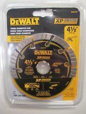 """NEW Dewalt DW4713T Diamond Saw Blade Wet / Dry Cutting Segmented 4.5"""" 4-1/2"""