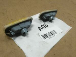 2006 AUDI A6 3.2 QUATTRO FRONT LEFT&RIGHT SIDE FENDER MOUNTED TURN SIGNAL LAMP