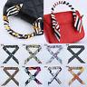 Fashion Womens Faux Silk Satin Ribbon Bag Scarf Headband Tied Handle Wrist Bands