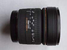 SIGMA CANON FIT EX DG 8mm f/3.5 FX FISHEYE Lens + CAPS + CASE 8 mm 3.5