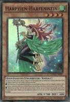 Yugioh 1x Harpyien-Harfenistin CROS-DE099  Deutsch Super  Rare