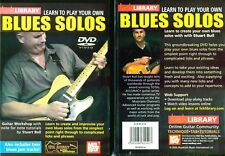 Lick Library Learn to Play Your Own Blues Solos - NEW