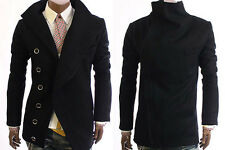 New Style Men's Trench Coat/Jacket Black/Grey C05 (Size M & L only)
