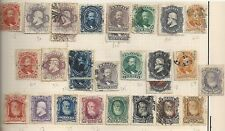 Brazil 1866-1878 selection classic stamps  HIGH VALUE!