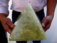 15.19lb HUGE NATURAL Citrine quartz crystal Pyramid healing