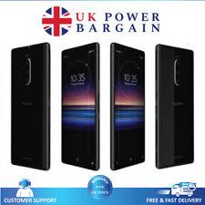 "Sony Xperia1 Black 128GB RAM6GB  6.5"" screen  4G LTE Unlocked Android Smartphone"
