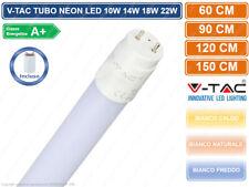 TUBO NEON LED V-TAC TUBO G13 T8 60 90 120 150 cm LUCE CALDA NATURALE FREDDA VTAC
