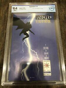Harbinger 13 CBCS 9.4 1993 Direct Market Edition DM Valiant Dark Knight Homage