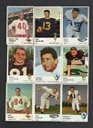 1961+Fleer+Football+lot+of+25+cards+with+Don+Maynard+rookie