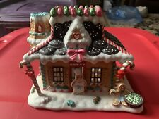 PartyLite Gingerbread Christmas House Tealight Candle Holiday Village Party Lite