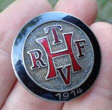 Reitsport Reit und Fahrverein H   Reiter original altes Mitgliedsabzeichen 1914