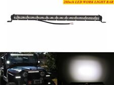 Slim 20 Inch 54W Single Row LED Light Bar Spot Light For UTE ATV SUV JEEP Truck