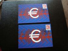 FRANCE - 2 cartes 1er jour 1999 (euros) (cy49) french
