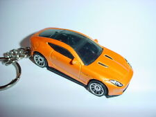 NEW 3D ORANGE 2015 JAGUAR F-TYPE COUPE CUSTOM KEYCHAIN keyring key gt JAG BLING!
