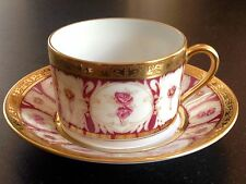 HAVILAND Parlon Limoges ROSE D'OR/GOLDEN ROSES tea cup & saucer-list $837