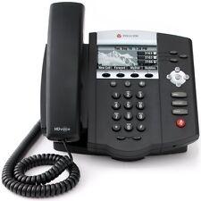 Polycom Soundpoint IP450 3-Line SIP w/PoE 2200-12450-025 VoIP - Refurbished
