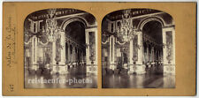 Stereophoto, Stereofoto, transparent, Salon de la guerre, Versailles um 1880