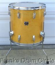 """Vintage Tama Superstar 16"""" Floor Tom Super Maple Natural Finish Star drum set"""
