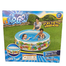 Bestway Character Play Pool 5ft x 20in Swimming Pool Quick & Easy Setup NEW