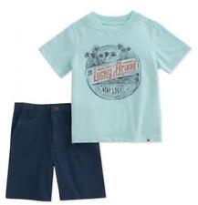 Ropa de niño de 2 a 16 años azules de algodón y poliéster