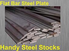 Steel Flat Bar Plate 100mm x 8mm x 300mm Long