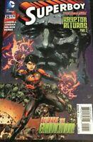 Superboy #25 The New 52 Krypton Returns DC Comic 2014 1st Print Unread NM