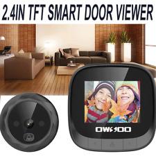 """LCD 2.4"""" Spioncino digitale elettronico porta campanello camera schermo cam IT"""