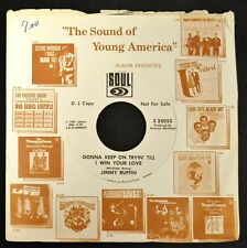Jimmy Ruffin Soul PROMO 35053 Gonna Keep On Tryin' Till I Win Your Love
