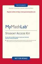 My math Lab code for Online Access Mymathlab Kit by Pearson