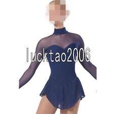 2018 new style Figure Skating Ice Skating Dress Dance Costume Sparkle Brand 8865
