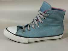 Converse All Star Chuck Taylor Sneakers Girls 2 Youth Pink Blue High Top Shoes