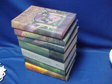 Complete Set of 7 Harry Potter First Edition Series Hc Books with Dust Covers