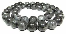 100 G X 6//0 Negro lustered Vidrio Seed Beads Aprox 4mm Craft joyería del grano F44