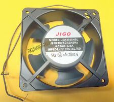 120MM AC 220V Sleeve Bearing Cool Case Cooling AC METAL Fan JIGO