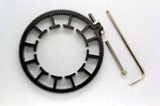 Cinematics Follow Focus Gear Ring Belt 70-80mm Adjustable for dslr lens rig 0.8