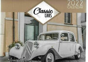 2022 WALL CALENDAR CLASSIC CARS-RETRO CARS HOME OFFICE LOTTS TO CHOOSE FROM