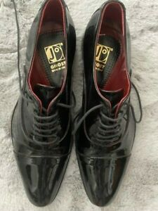 Jo Ghost Men's Shoes Size 40 (US 7) Black Patent Leather