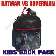 Mochila Para Niños-DC Batman Vs Superman Amanecer De Justicia-último diseño para la escuela