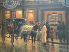 """G.Harvey """"Grand Opening"""" 1983 Limited Edition Lithograph 1099/1250"""