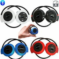 Wireless Bluetooth Sport Stereo Headset Headphone For Apple iPhone 6 5S 4 Note 3