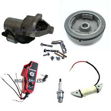 ELECTRIC START KIT FLYWHEEL STARTER MOTOR IGNITION HONDA GX340 11HP GX390 13HP