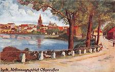 Lyck Ostpreußen Abstimmungsgebiet Postkarte