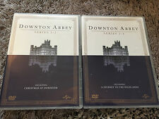 (Downton Abbey 2 complete box sets)  series 1-4 complete DVDs