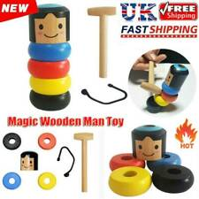 Immortal Daruma Small Wooden Man Stubborn Unbreakable Wood Magic Toy Kids Gifts