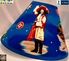 DISNEY NEVERLAND CAPTAIN HOOK  LAMP SHADE (Clip-On) -  $65.95 - LAST ONE!