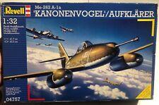 Revell Me-262 A-1a Kanonenvogel Aufklarer 1/32 Open Model Kit 'Sullys Hobbies'